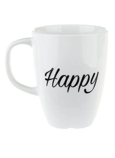 Morhipo Home Happy - Çift Taraflı Kupa Beyaz